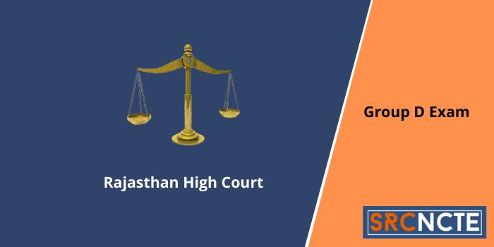 Rajasthan High Court Exam